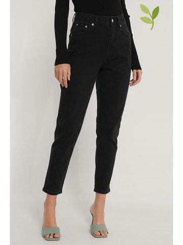 NA-KD Jeans - Mom fit - in Schwarz