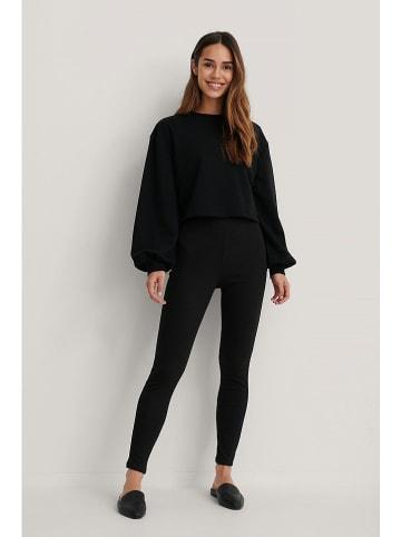 NA-KD Sweatshirt zwart