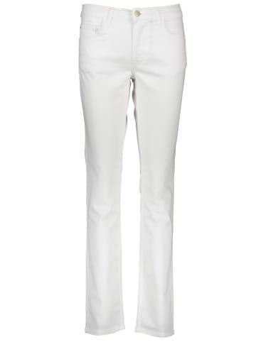"""Mustang Spodnie """"Rebecca"""" w kolorze białym"""
