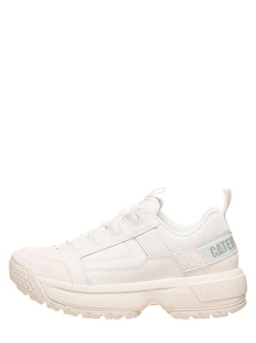 """CAT Leder-Sneakers """"Blaze"""" in Weiß"""
