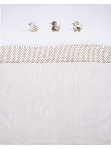 """Alvi Kruipdeken """"Eend"""" wit/beige - (L)135 x (B)100 cm"""