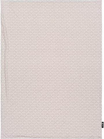 """Alvi Babydeken """"Graphic"""" beige - (L)100 x (B)75 cm"""