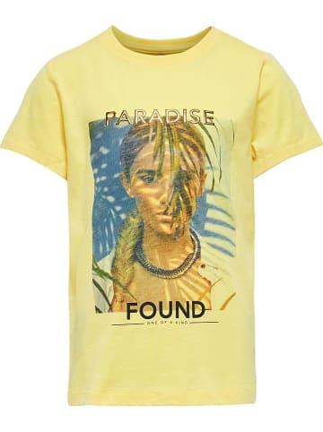 """KIDS ONLY Koszulka """"Kia"""" w kolorze żółtym"""