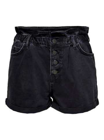 """ONLY Szorty dżinsowe """"Onlcuba"""" w kolorze czarnym"""