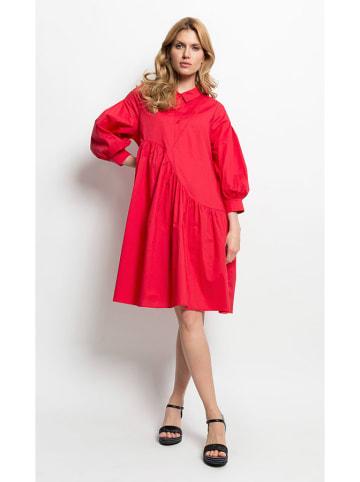 Deni Cler Sukienka w kolorze czerwonym