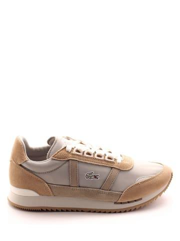"""Lacoste Leren sneakers """"Partner Retro"""" beige"""