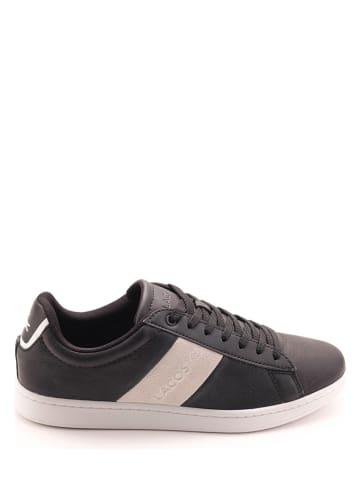 """Lacoste Leren sneakers """"Carnaby Evo"""" zwart"""