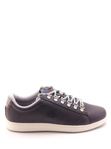 "Lacoste Leren sneakers ""Carnaby Evo"" donkerblauw"