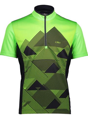 CMP Fietsshirt groen/zwart