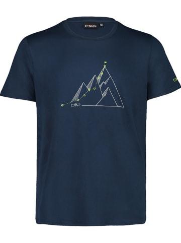 CMP Trainingsshirt donkerblauw