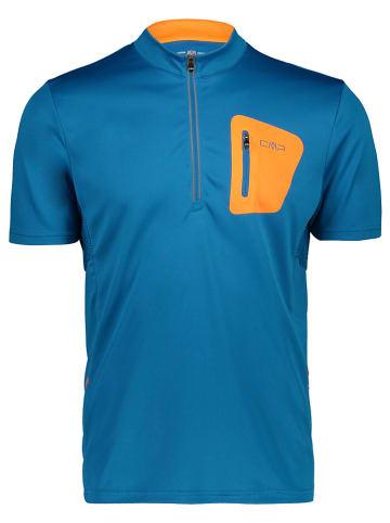 CMP Koszulka kolarska w kolorze niebieskim