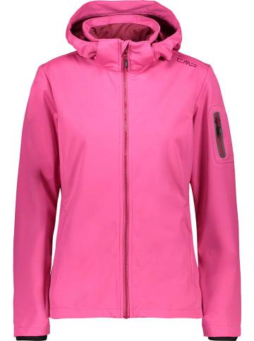 CMP Kurtka softshellowa w kolorze różowym