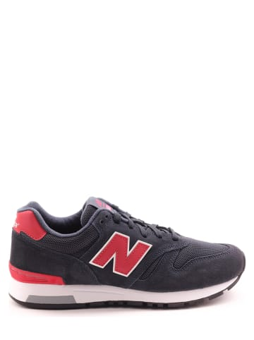 """New Balance Sneakers """"565"""" antraciet/rood"""