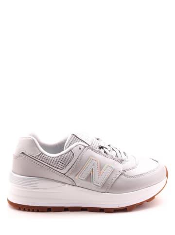 """New Balance Sneakersy """"574"""" w kolorze jasnoszarym"""