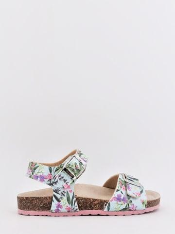 DOCKSTEPS Sandalen turquoise/meerkleurig