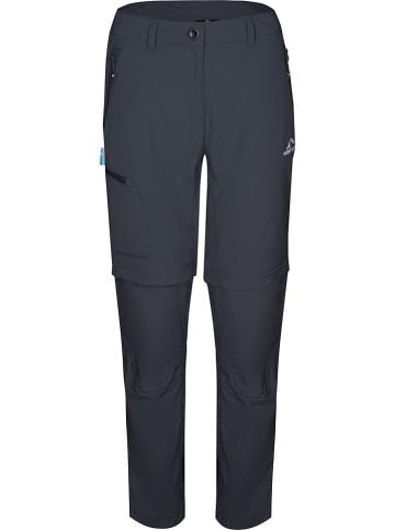 """Westfjord Spodnie trekkingowe Zip-Off """"Skogar"""" w kolorze antracytowym"""