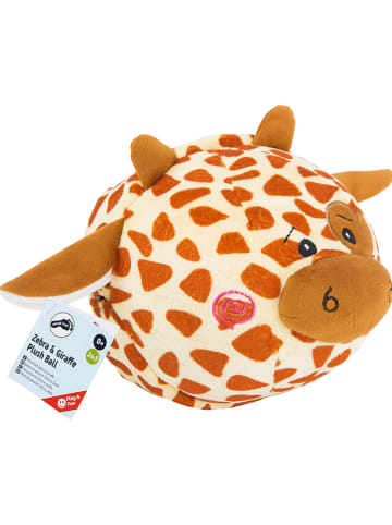 """Small foot Omkeerbare pluche-bal """"Zebra & Giraf"""" - vanaf de geboorte"""