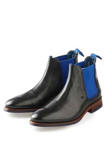 "GORDON & BROS Leder-Chelsea-Boots ""Bojan"" in Schwarz"
