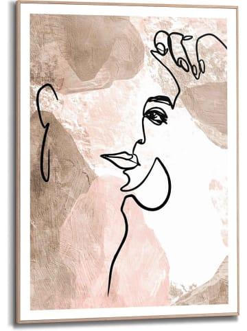 """Orangewallz Druk artystyczny """"Profile Pure Essentials"""" w ramce - 50 x 70 cm"""