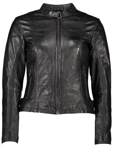 Buffalo Leren jas zwart