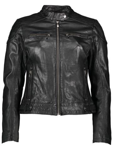 Buffalo Skórzana kurtka w kolorze czarnym