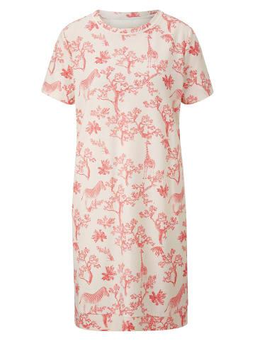 Heine Sukienka w kolorze kremowo-jasnoróżowym