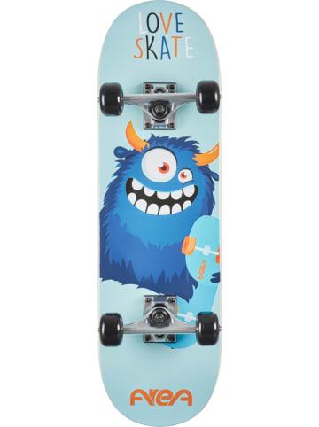FUN4U Skateboard in Hellblau/ Blau - (L)71 x (B)20 cm