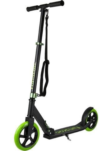 "FUN4U Scooter ""Funscoo 200"" in Schwarz/ Grün"