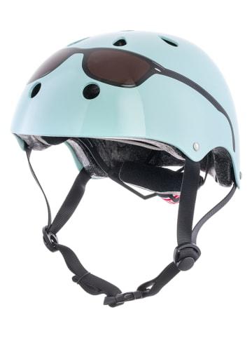 MINI HORNIT KIDS Kask rowerowy w kolorze błękitnym