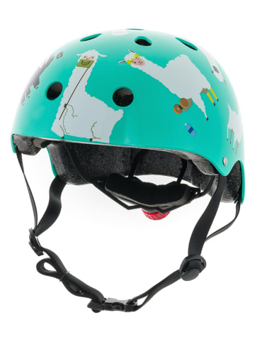 MINI HORNIT KIDS Kask rowerowy w kolorze turkusowym