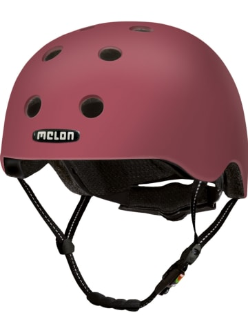 Melon Helmets Fahrradhelm in Rotbraun