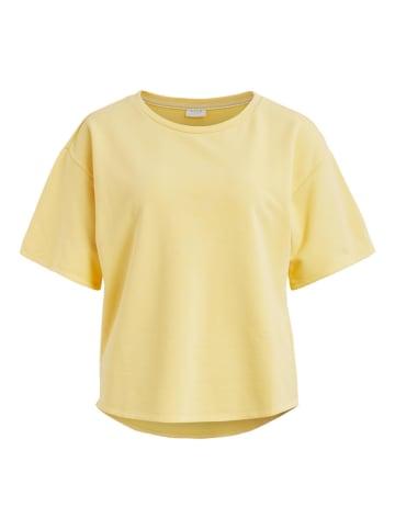 "Vila Sweatshirt ""Nami"" geel"