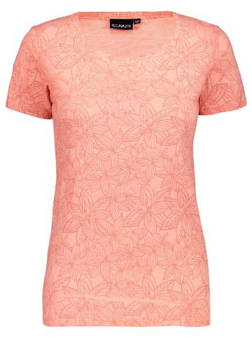 CMP Shirt oranje