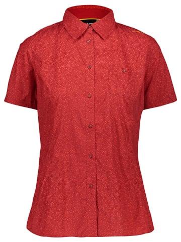CMP Bluzka funkcyjna w kolorze czerwonym