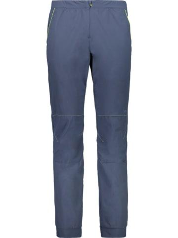 CMP Spodnie trekkingowe w kolorze szaroniebieskim