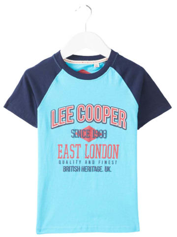 Lee Cooper Shirt turquoise