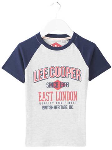 Lee Cooper Koszulka w kolorze jasnoszarym