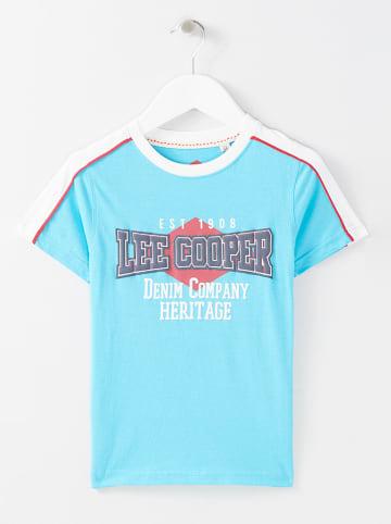 Lee Cooper Koszulka w kolorze niebieskim