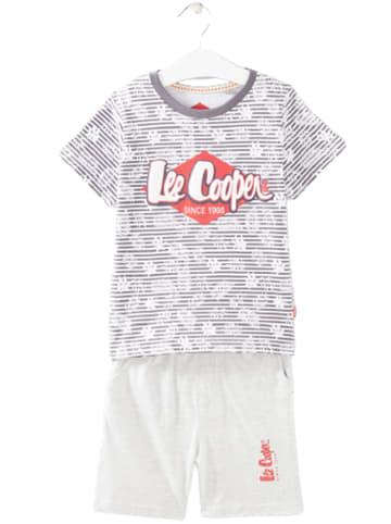 Lee Cooper Piżama w kolorze jasnoszarym