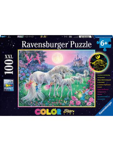 """Ravensburger 100-delige puzzel """"Eenhoorns in maanlicht"""" - vanaf 6 jaar"""