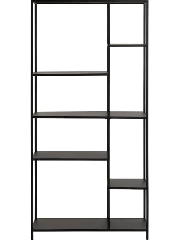 """AC Design Regał """"Newcastle"""" w kolorze czarnym - 79,5 x 165 x 30 cm"""