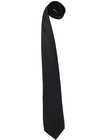 Strellson Seiden-Krawatte in Schwarz