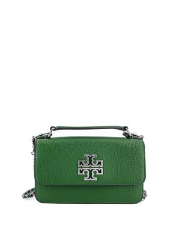 Tory Burch Leren schoudertas groen - (B)19 x (H)11 x (D)5 cm