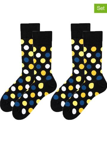 TODO SOCKS 2-delige set: sokken zwart