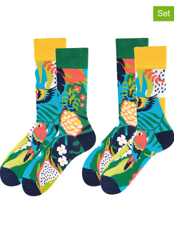 TODO SOCKS 2er-Set: Socken in Bunt