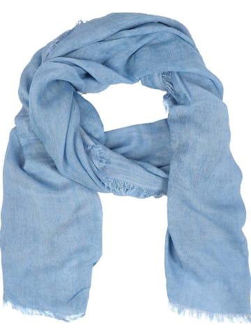 Zwillingsherz Chusta w kolorze błękitnym - 200 x 85 cm