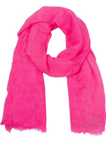 Zwillingsherz Chusta w kolorze różowym - 200 x 85 cm