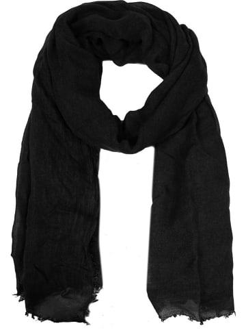 Zwillingsherz Chusta w kolorze czarnym - 200 x 85 cm