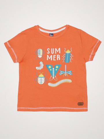 "Street MONKEY Shirt ""Fresh Time"" oranje"