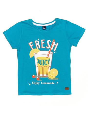 "Street MONKEY Shirt ""Fresh Time"" blauw"